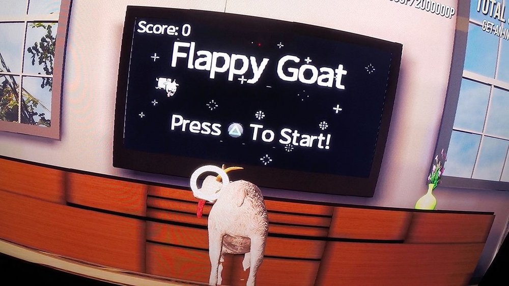 Say Hello to Flappy Goat