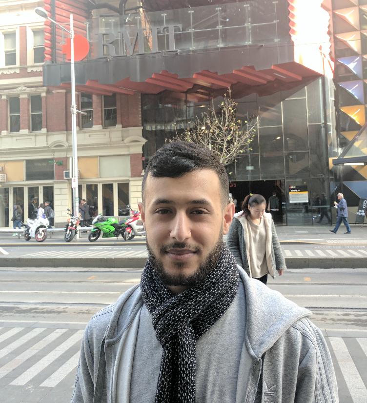 Ahmed at RMIT