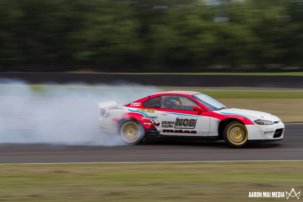 Ultimate Trackdays's drift sessions are open to experienced drifters only