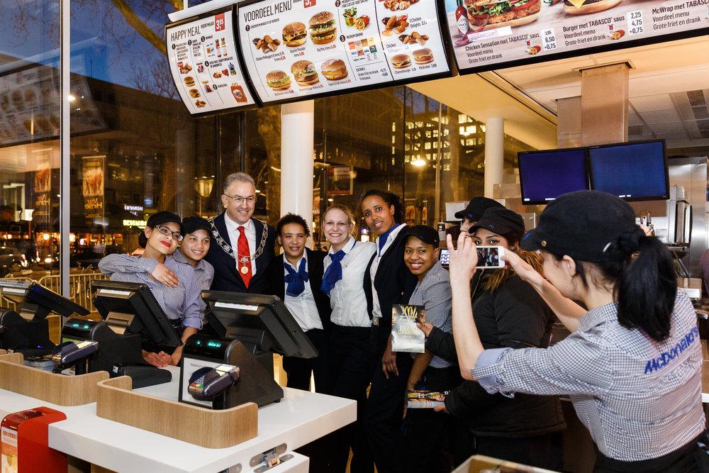 Opening McDonald's Coolsingel
