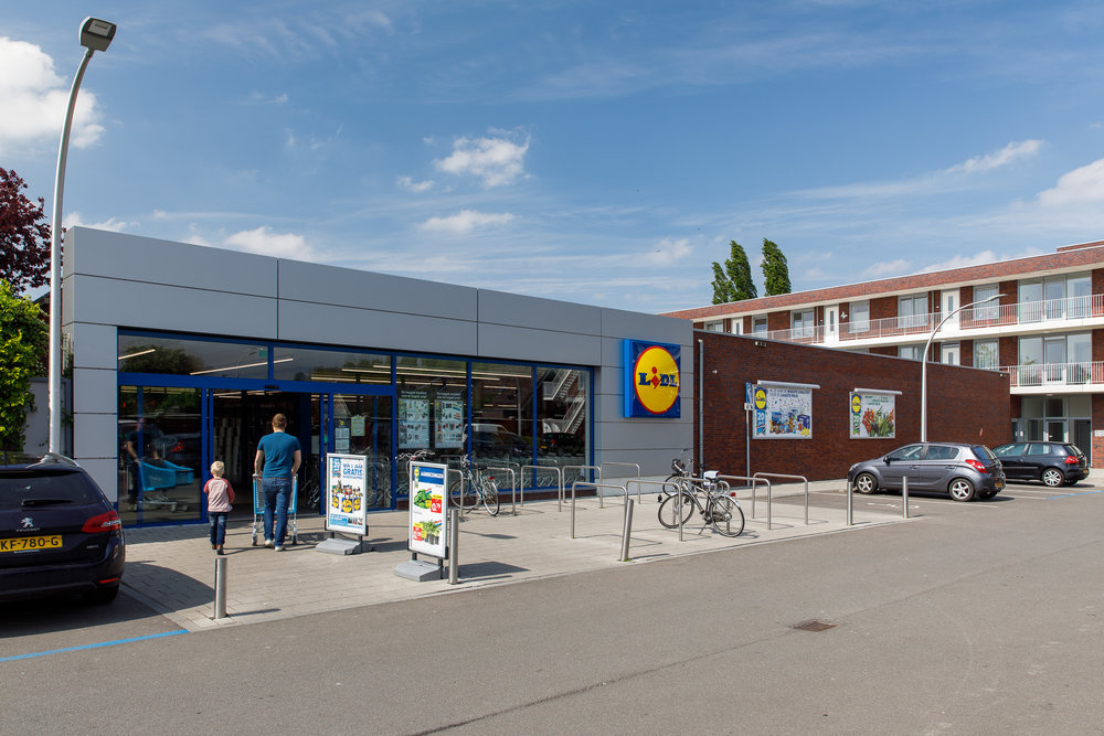 Lidl supermarkt Strijen