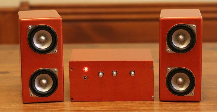 Orangey Speakers