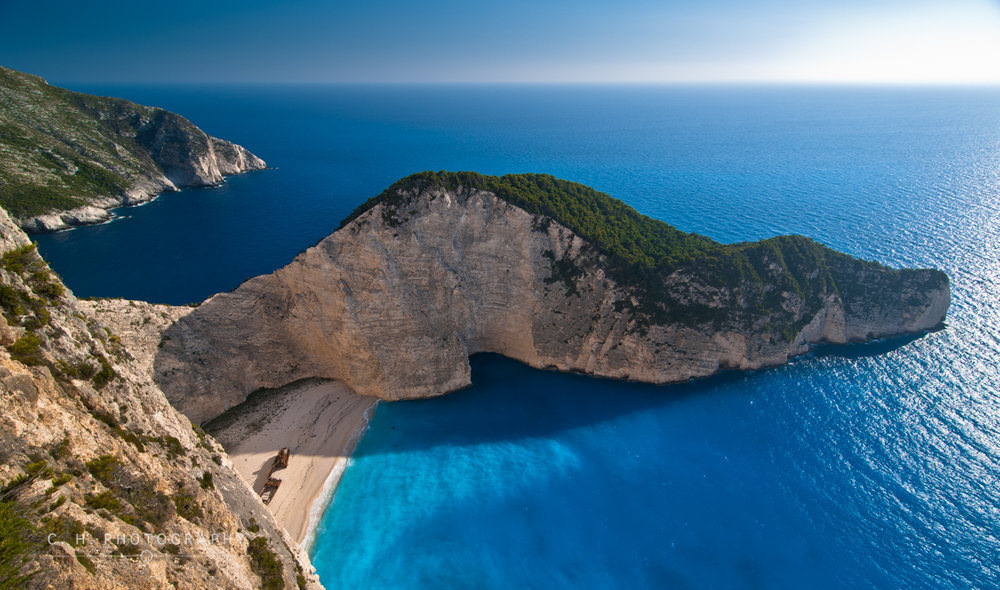 Shipwreck Cove - Zakynthos, Greece