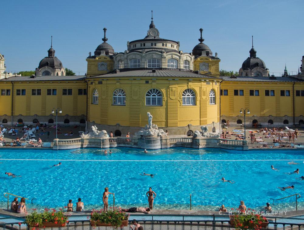 Szechenyi Bath - Budapest, Hungary
