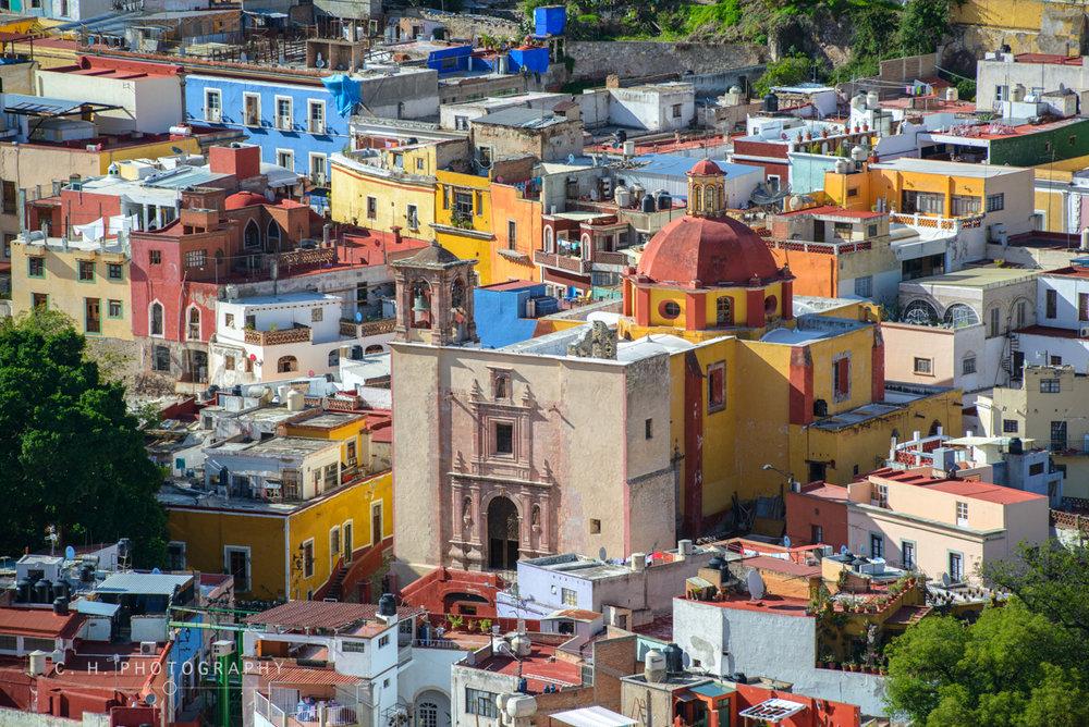 View From Pipila - Guanajuato,  Mexico