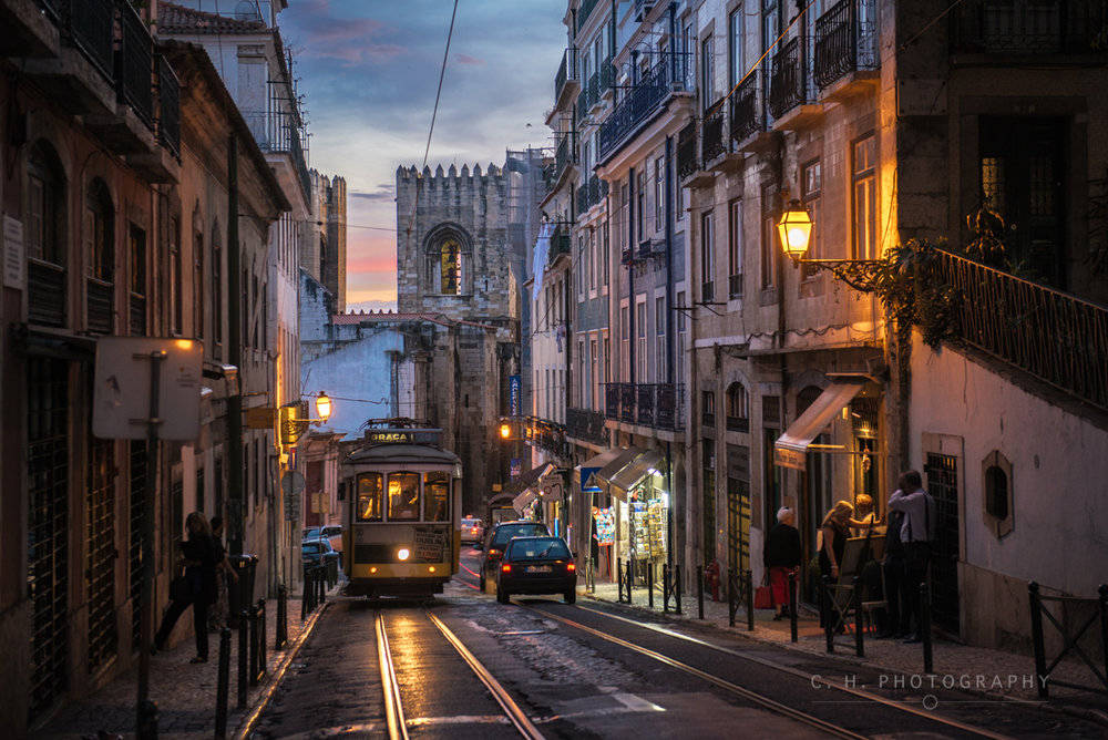 Old Trolly - Lisbon, Portugal