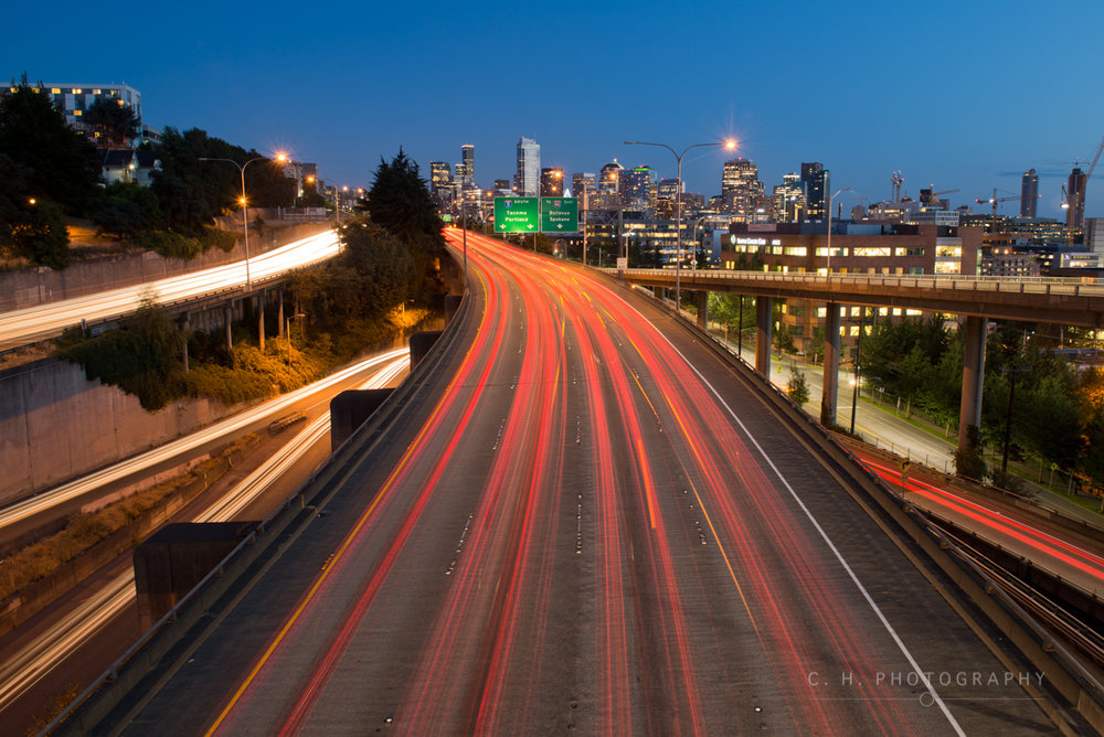 I-5 Lights - Seattle, USA