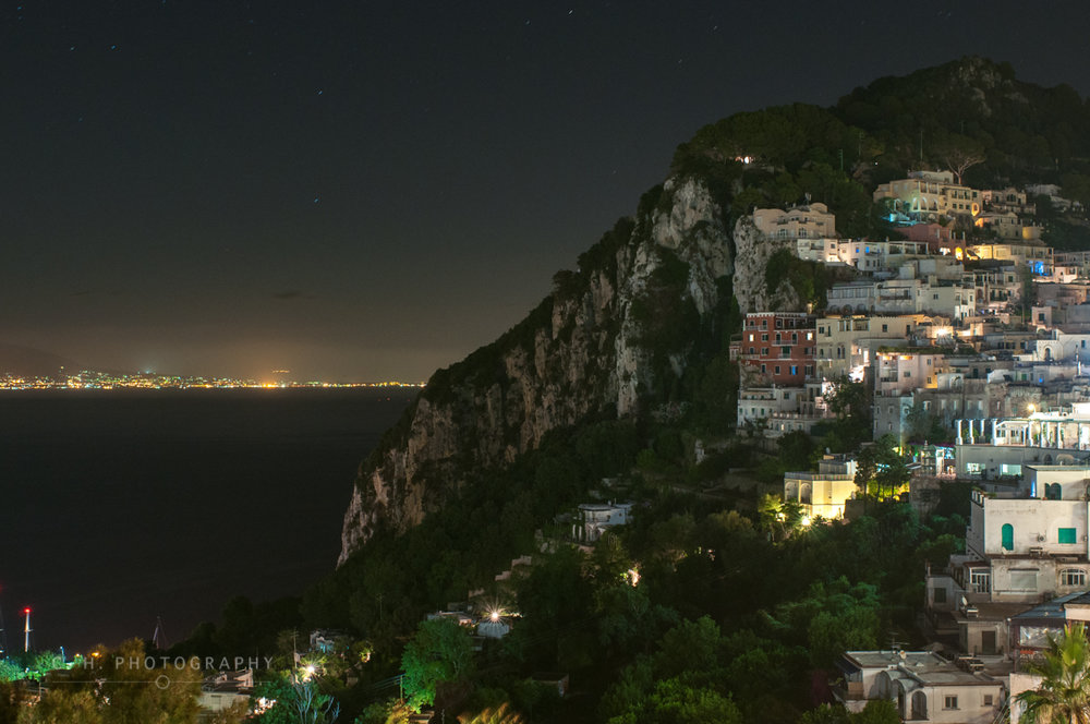 Napoli Lights - Capri, Italy