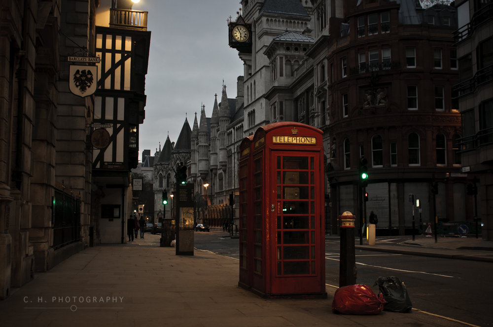 Red Phone booth - London, UK