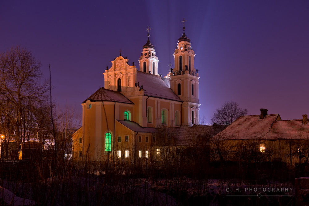 Church Lights - Vilnius, Lithuania