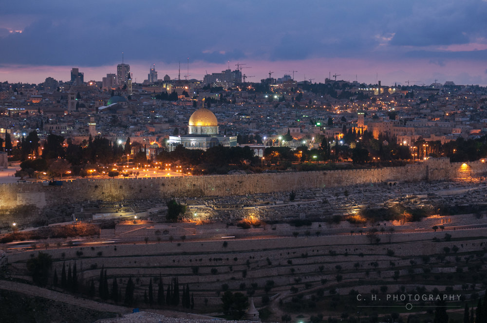 Old City Skyline - Jerusalem, Israel