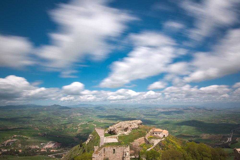 Sicilian View - Enna, Italy