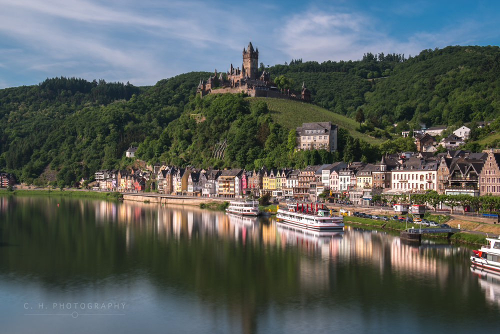 Burg Cochem - Mosel River, Germany