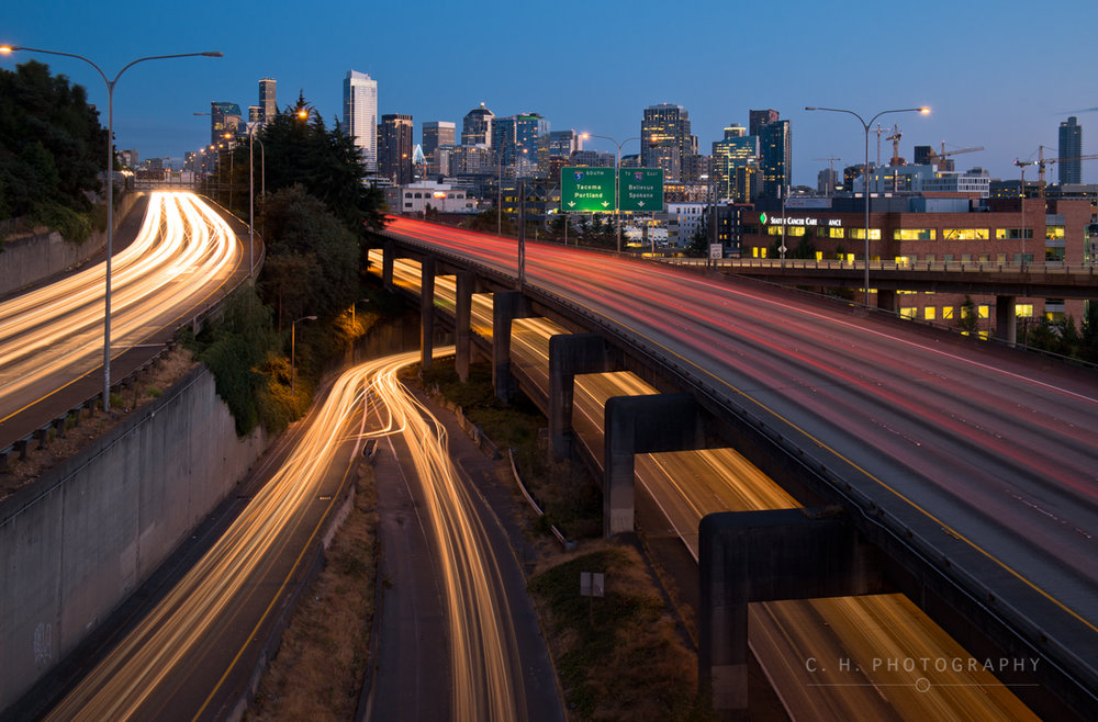 Mercer St. Exit - Seattle, USA