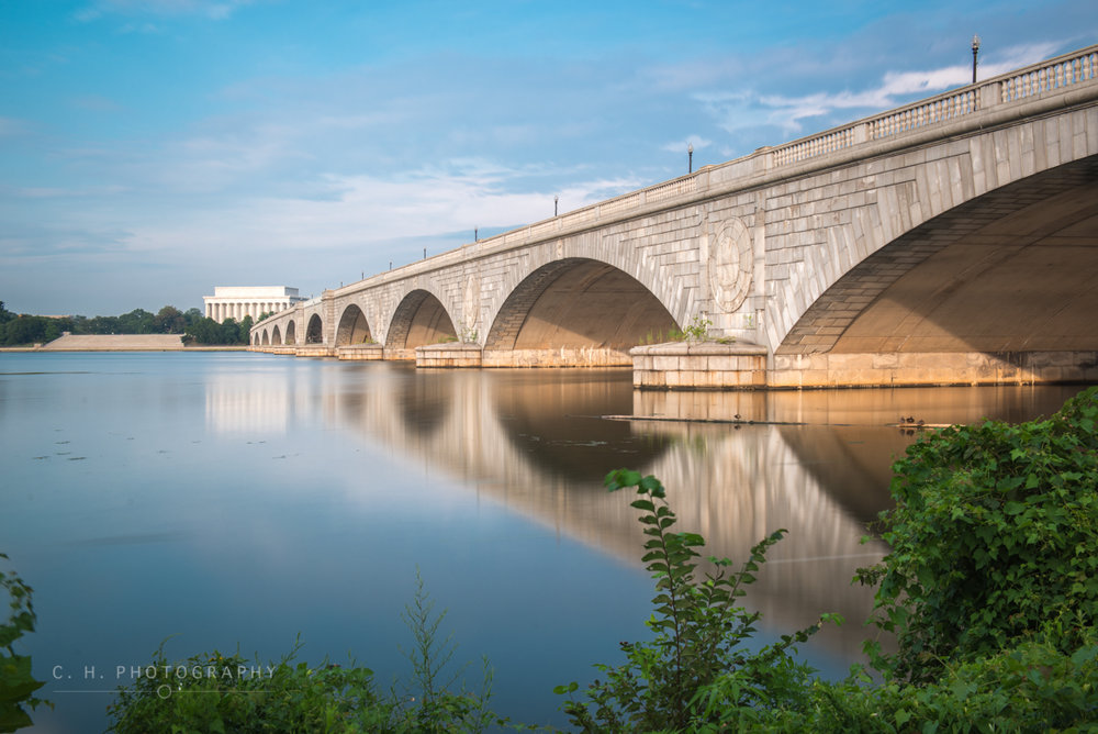 Arlington Memorial Bridge - Washington D.C. USA