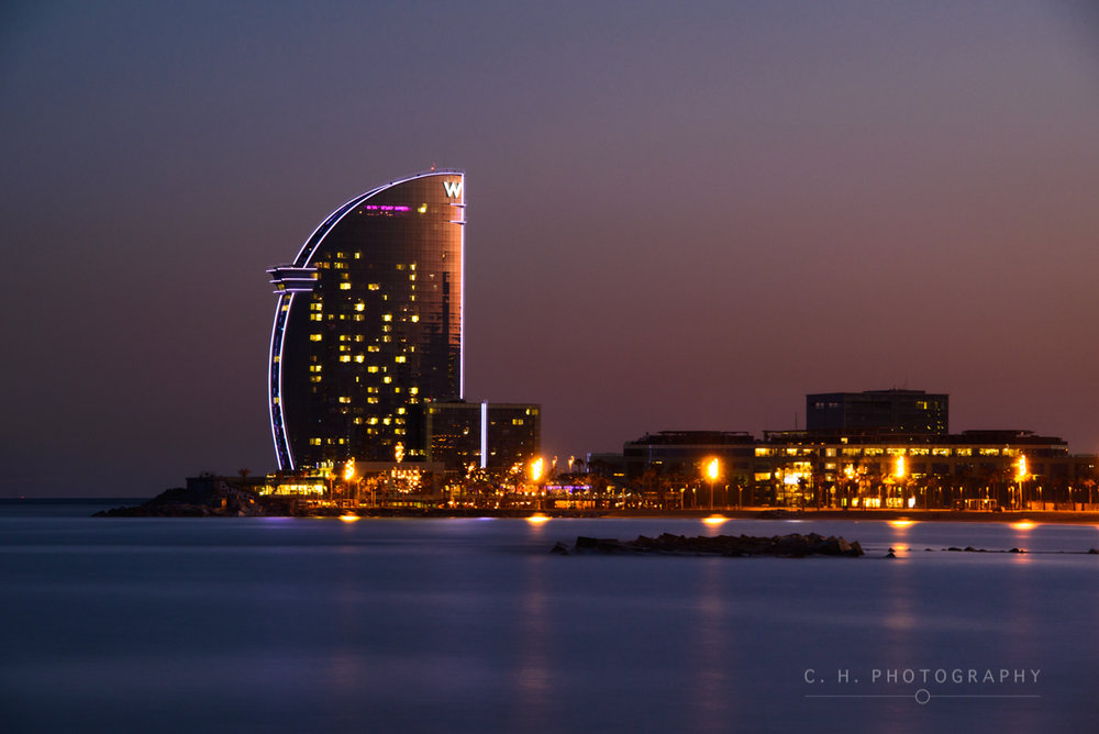 The W Hotel - Barcelona, Spain