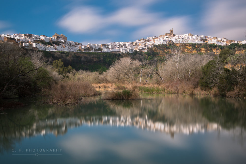 Skyline Reflection - Arcos de la Frontera, Spain