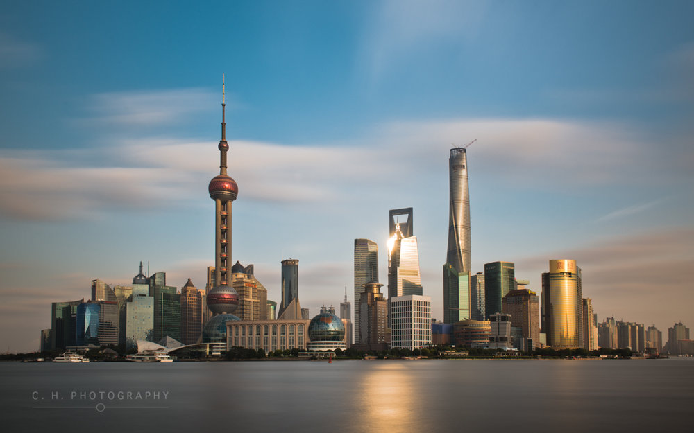 Pudong Skyline - Shanghai, China