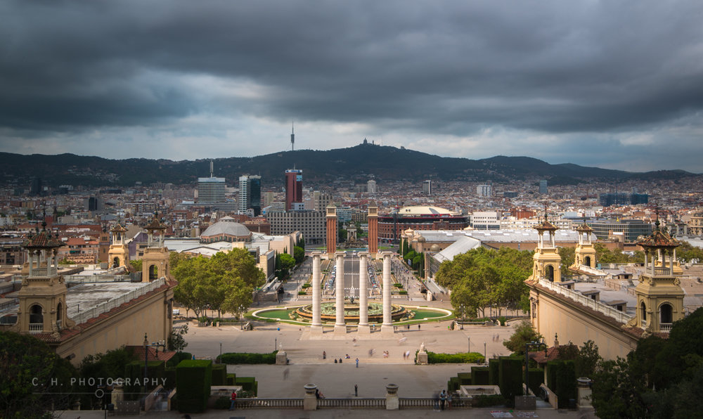 The Four Columns - Barcelona, Spain