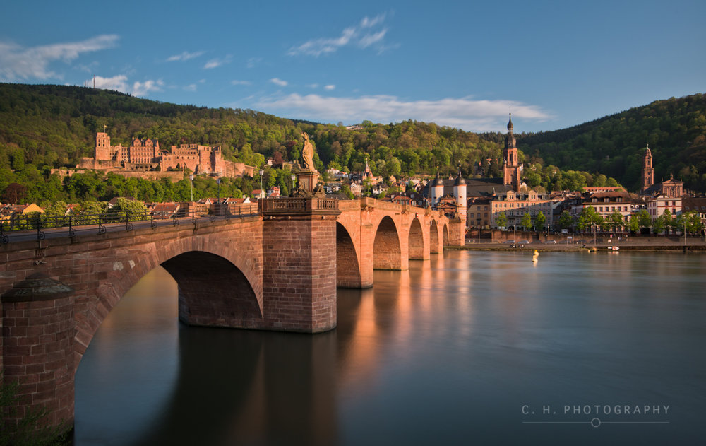 The Old Bridge - Heidelberg, Germany