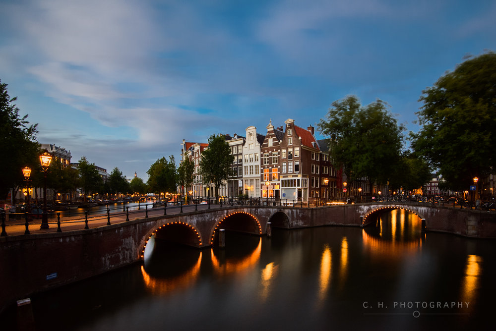 Leidsegracht Night - Amsterdam, The Netherlands