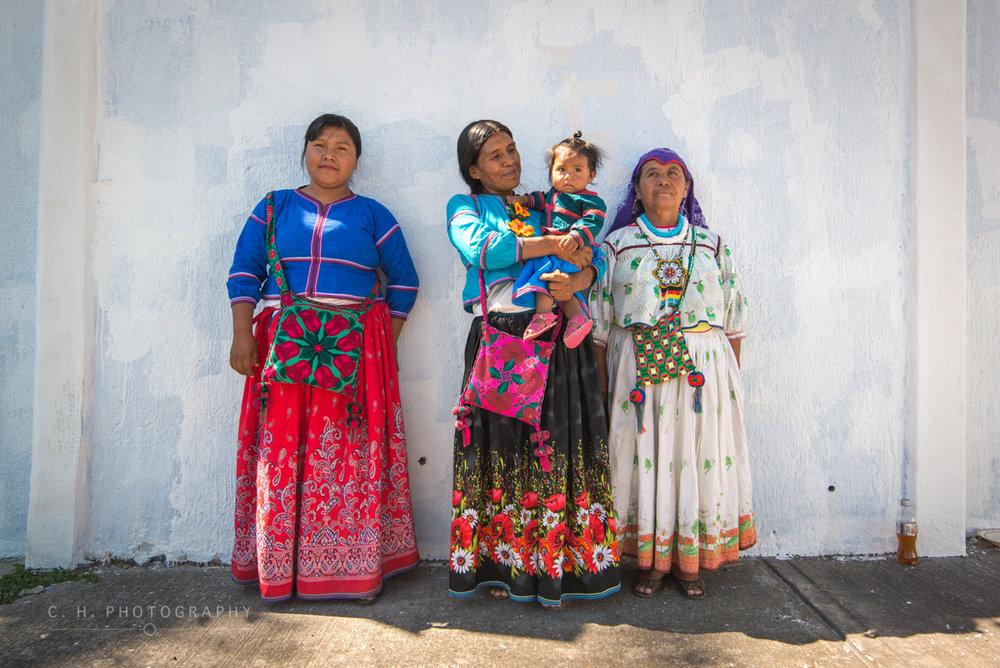 Huichol Women - Guadalajara, Mexico