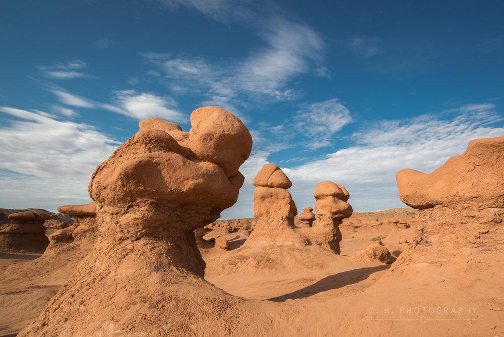 Desert Goblins - Goblin Valley State Park, USA
