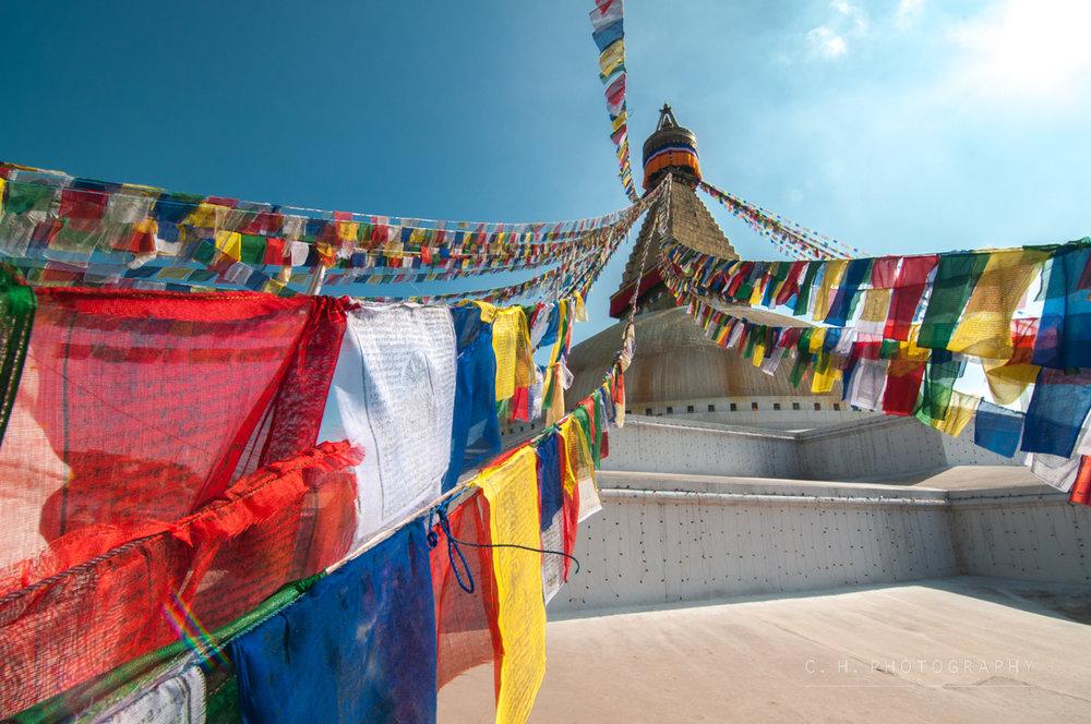 Boudhanath Stupa - Kathmandu, Nepal