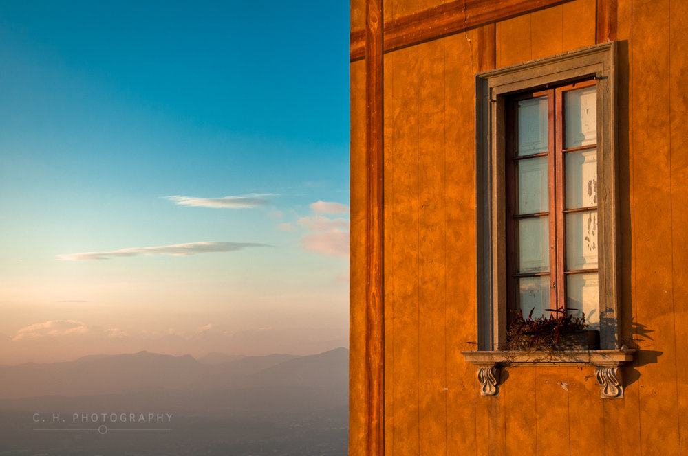 Window On A Mountain - Lago di Como, Italy