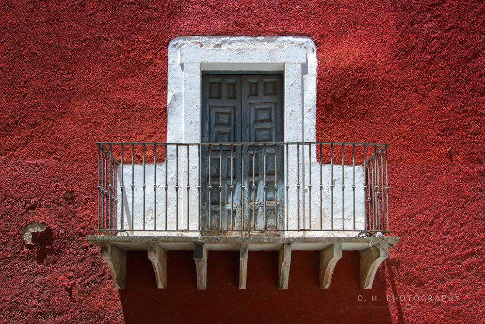 Old Balcony - Guanajuato, Mexico