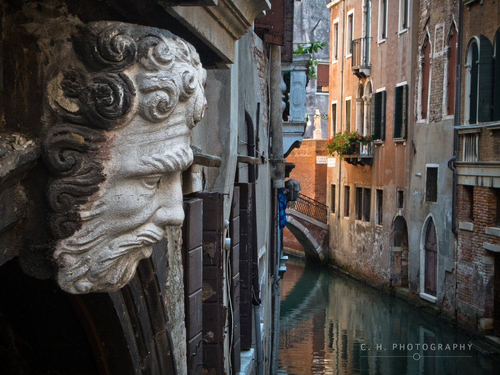 Venetian Bust - Venive, Italy