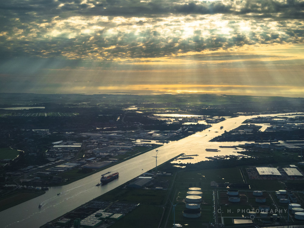 Coming Into Schiphol