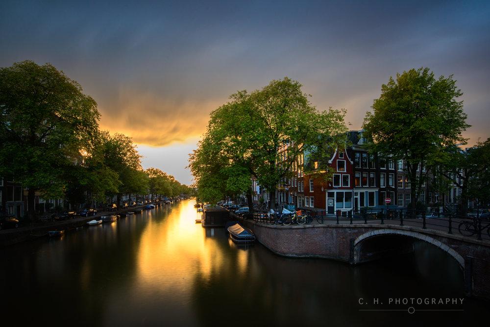Prinsengracht and Reguliersgracht