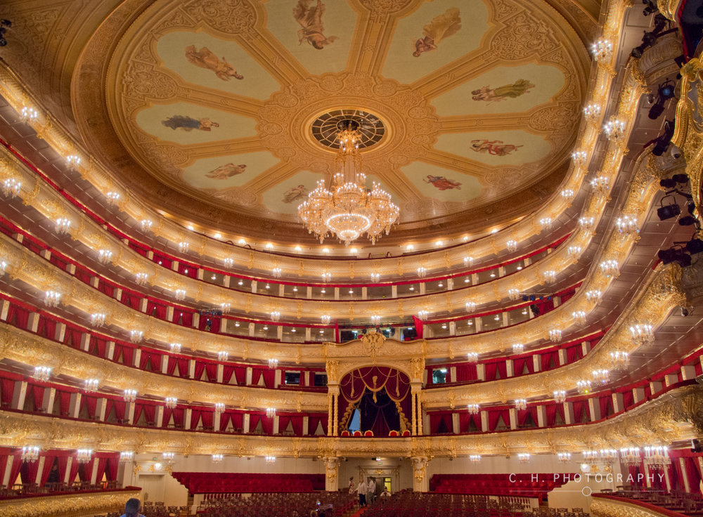 The Bolshoi Theatre - Moscow