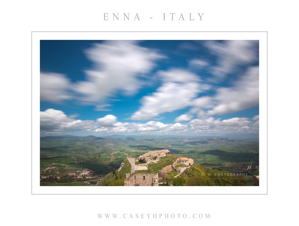 Enna - Sicily - Italy