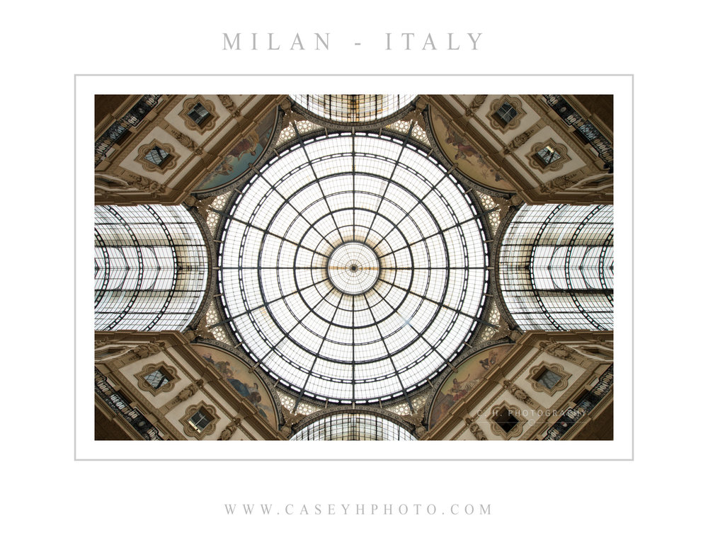 Galleria Vittorio Emanuele II - Milan - Lombardy