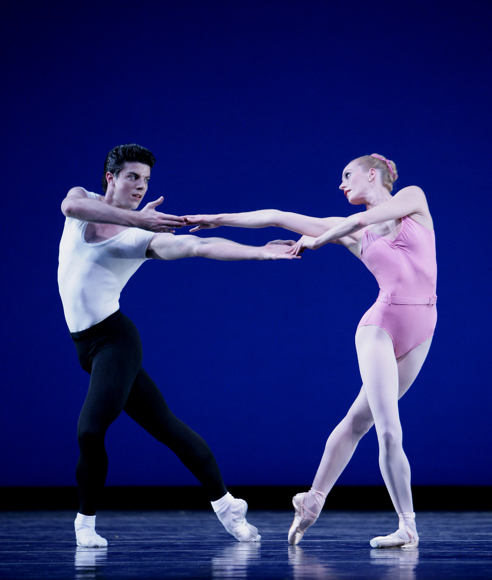 Balanchine's Symphony In 3 Movements with Patricia Barker. Photo by Angela Sterling.