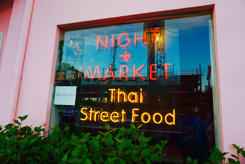 night + market thai street food los angeles