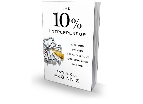 the 10% entrepreneur patrick j mcginnis