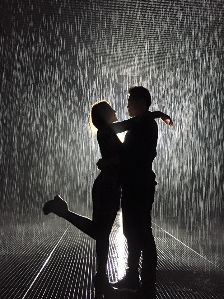 Rain Room, Shanghai, China (2015)