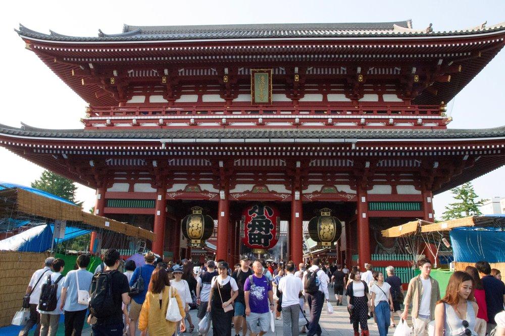 senso-ji asakusa tokyo japan