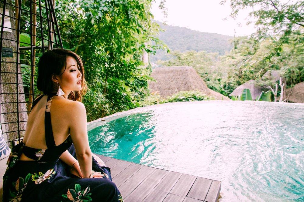 Keemala resort Phuket heels on the go