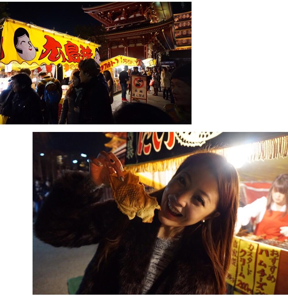 tokyo sensoji temple new year's countdown heelsonthego