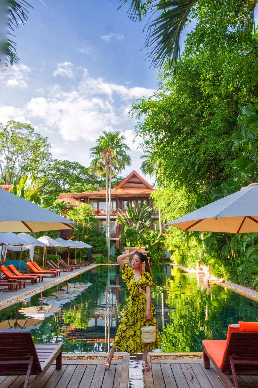 Heelsonthego Cambodia travel Siem Reap Belmond la Residence d'Angkor hotel
