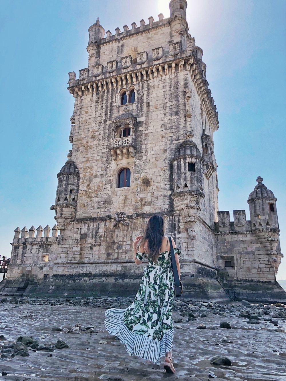 Heelsonthego Lisbon Portugal travel belem tower