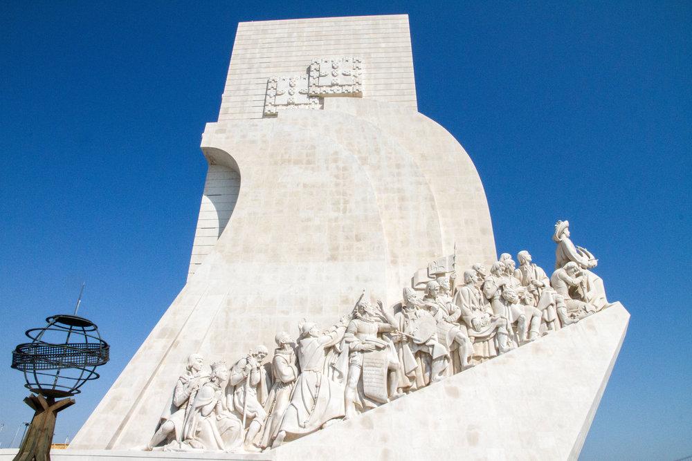 Heelsonthego Lisbon Portugal travel Padrão dos Descobrimentos