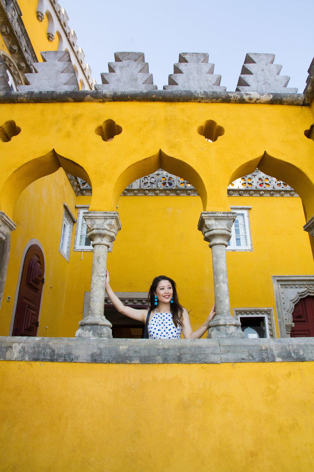 Heelsonthego sintra Pena palace Portugal