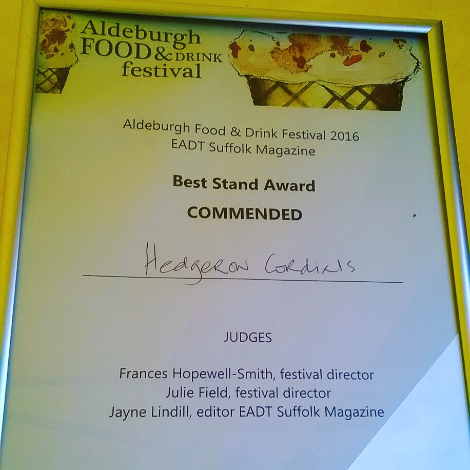 'Best Stand Commended'