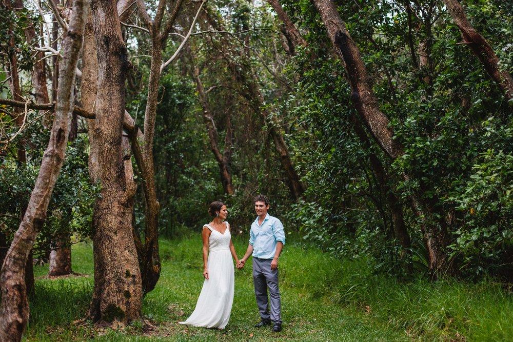 Point Plomer Wedding, Crescent Head Wedding