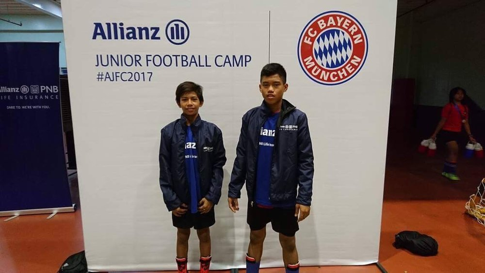 Two of our Football players Michael Antillo and Archie Dela Cruz were selected to train in Indonesia for summer training under Bayern Munich Football club of Germany. Now we have to fast track their passports.
